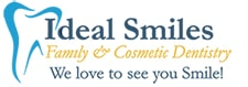 ideal smiles dentistry footer logo