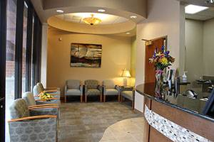 Ideal Smiles Dentistry Reception Area
